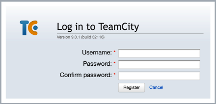 Generated registration form